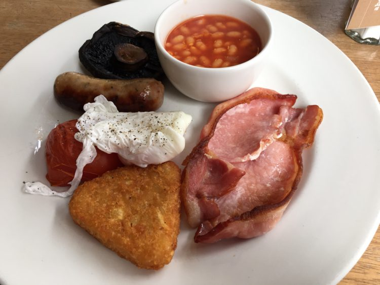 Cafe Continente - London - an Excellent Breakfast