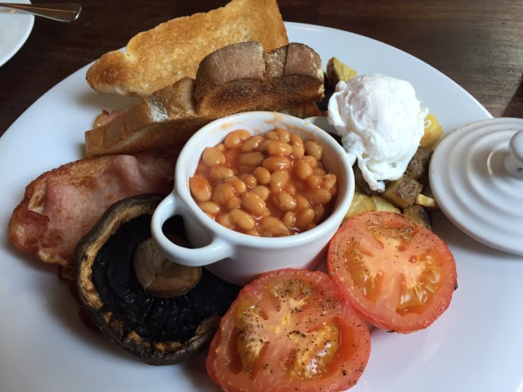 Cosy Club Birmingham Full English Breakfast