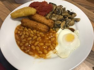 Full English Cafe - Veggie Breakfast