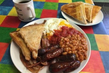Greedy Pig Cafe - Full English