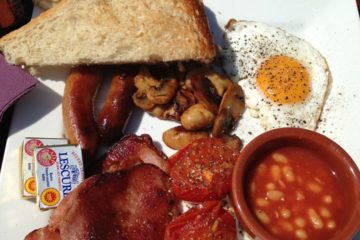 The Deli Social Boldmere Full English Breakfast