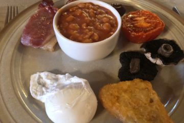 Wood Norton Hall - Evesham - Full English Breakfast