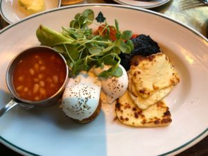 The Ivy Birmingham - Vegetarian Breakfast