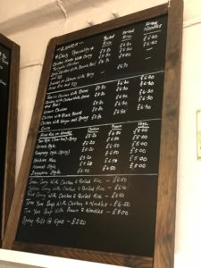 Lisa and Panns Kitchen Lunch and Takeaway Menu