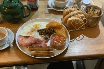 Tudor House Bakery - Tamworth - Full English Breakfast