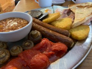 Blue Bell Cider House - Large Full English Breakfast - Close Up Picture