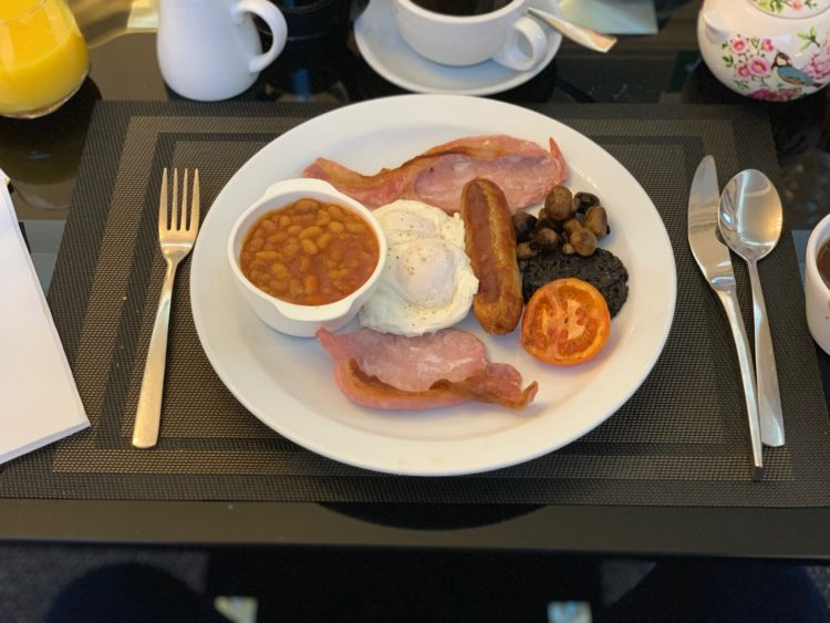 Derby Manor Bournemouth - Full English