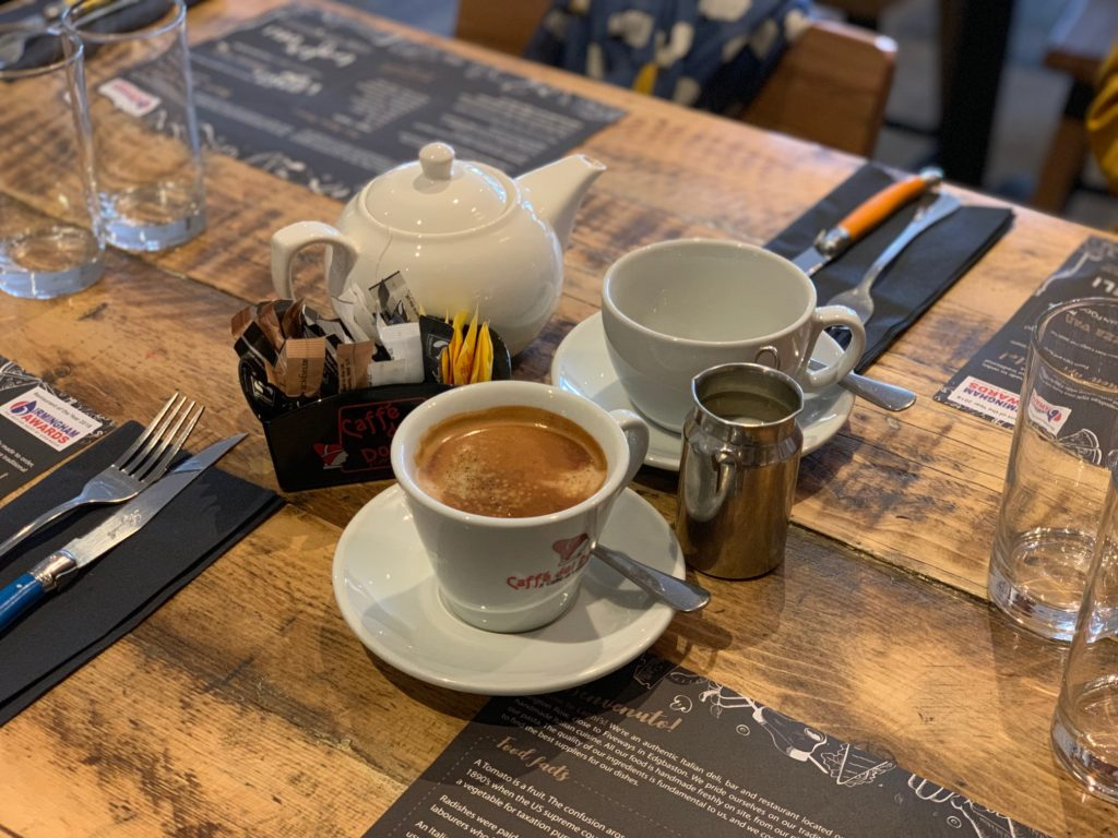 Laghis Deli - Edgbaston - Very Good Italian Coffee - and Breakfast Tea